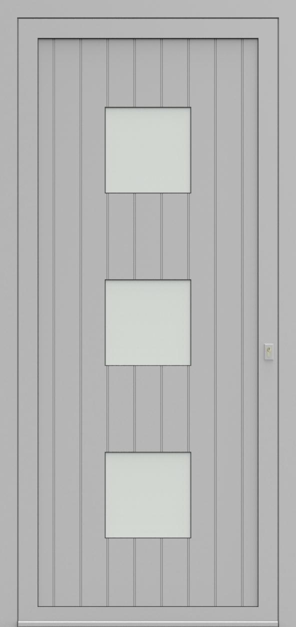 Porte d'entrée 94130 CADENS de la gamme Light Design posée par les établissements CELEREAU à Roncq