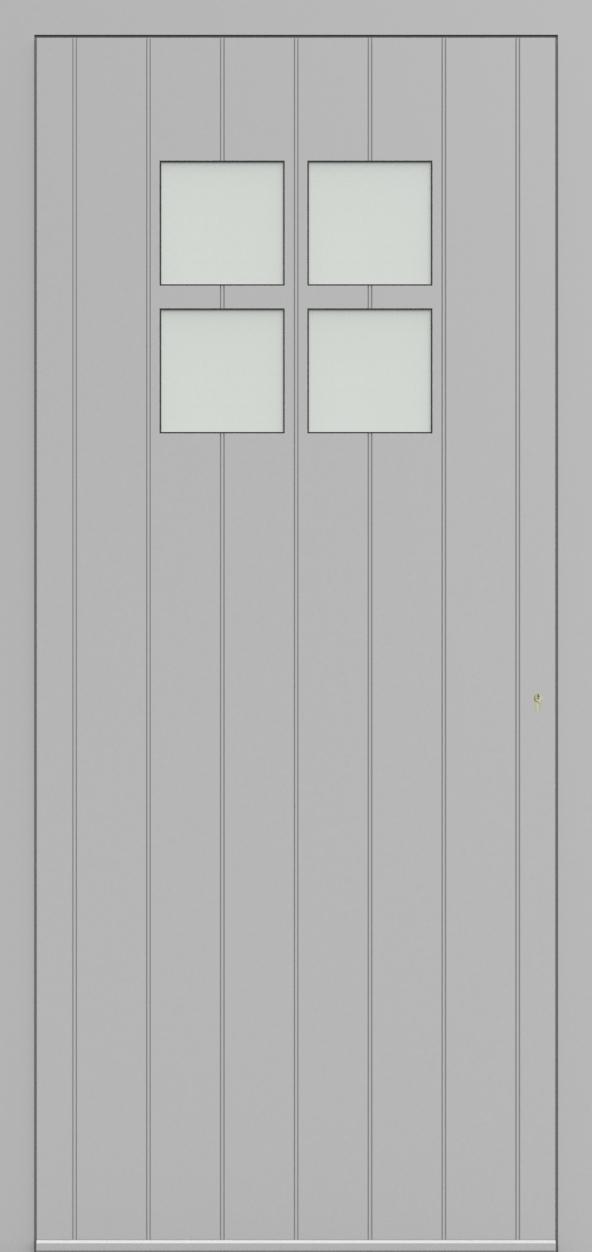 Porte d'entrée 94410A HERMITAGE de la gamme Light Design posée par les établissements CELEREAU à Roncq