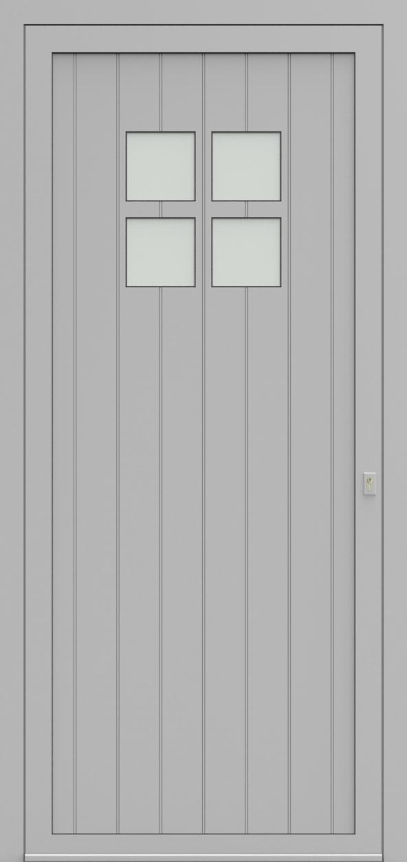 Porte d'entrée 94410B HERMITAGE de la gamme Light Design posée par les établissements CELEREAU à Roncq