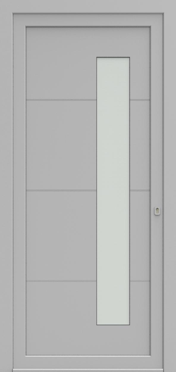 Porte d'entrée 96010 PRILINE de la gamme Light Design posée par les établissements CELEREAU à Roncq