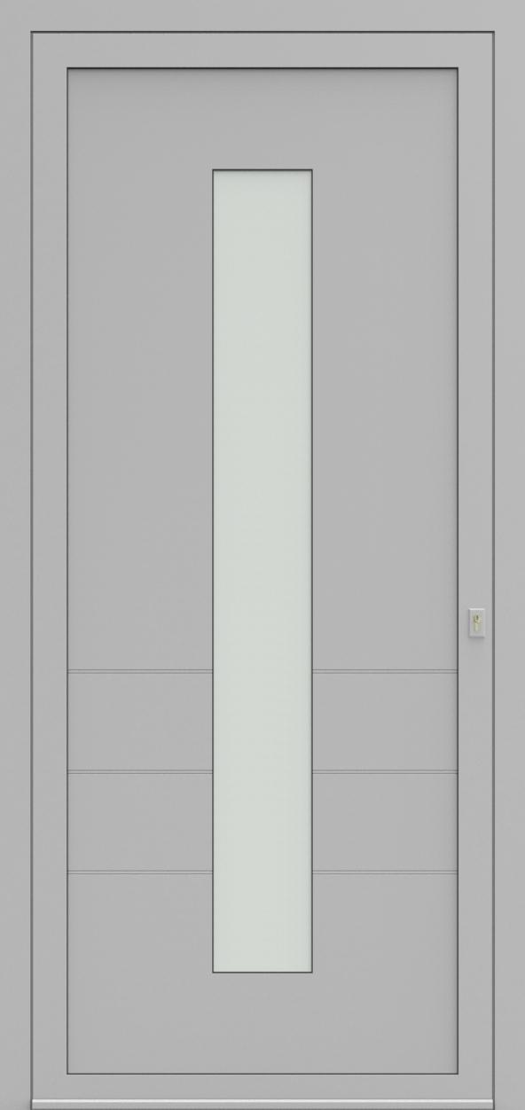 Porte d'entrée 96110 BALINE de la gamme Light Design posée par les établissements CELEREAU à Roncq