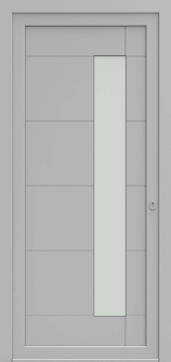 Porte d'entrée 96410 FIXLINE de la gamme Light Design posée par les établissements CELEREAU à Roncq