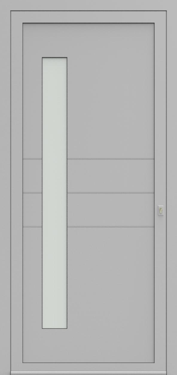 Porte d'entrée 96810B COMLINE de la gamme Light Design posée par les établissements CELEREAU à Roncq