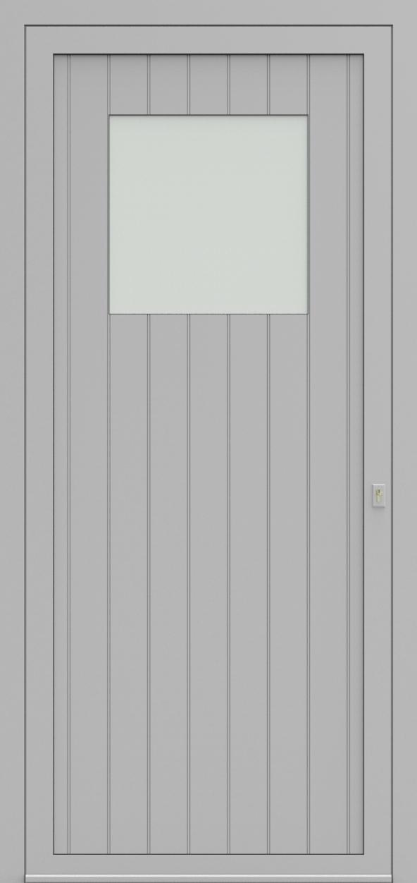 Porte d'entrée 98410B VINTAGE de la gamme Light Design posée par les établissements CELEREAU à Roncq