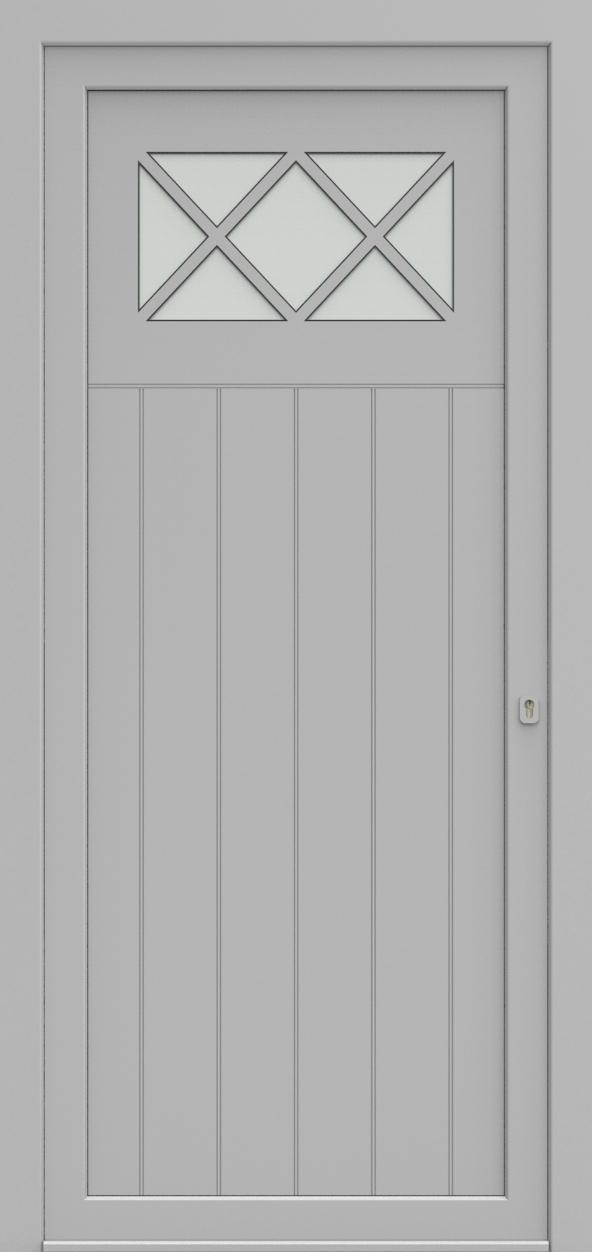 Porte d'entrée 98510A COTTAGE de la gamme Light Design posée par les établissements CELEREAU à Roncq