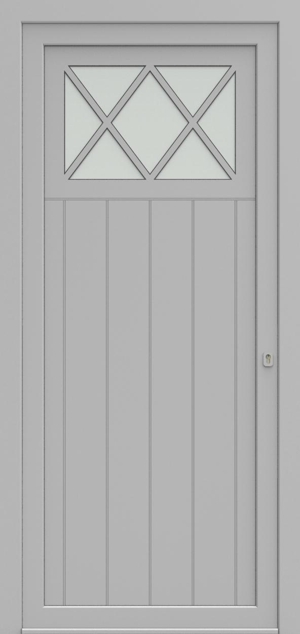 Porte d'entrée 98510B COTTAGE de la gamme Light Design posée par les établissements CELEREAU à Roncq