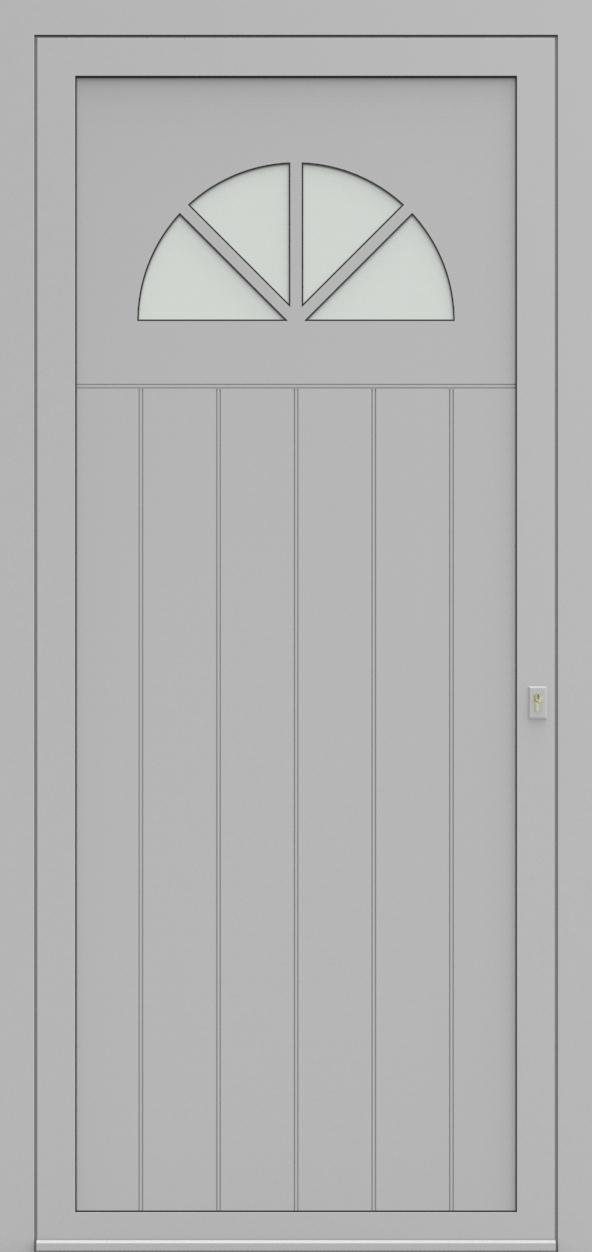 Porte d'entrée 98610A ENTOURAGE de la gamme Light Design posée par les établissements CELEREAU à Roncq