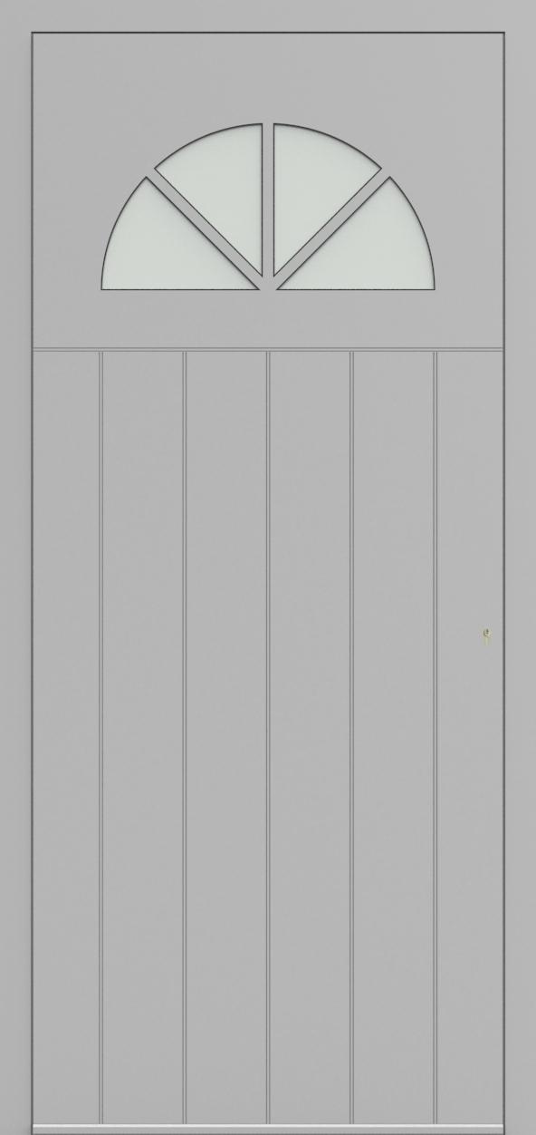 Porte d'entrée 98610B ENTOURAGE de la gamme Light Design posée par les établissements CELEREAU à Roncq