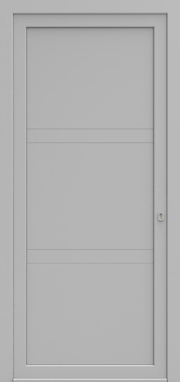 Porte d'entrée LD DESIGN B de la gamme Light Design posée par les établissements CELEREAU à Roncq