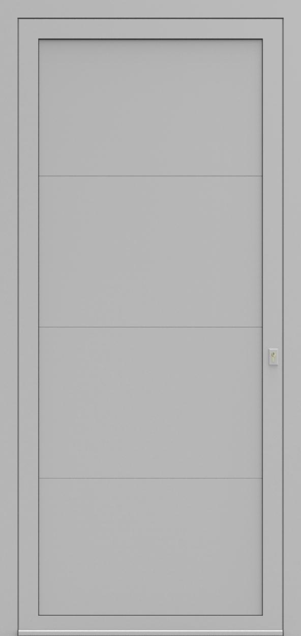 Porte d'entrée LD DESIGN C de la gamme Light Design posée par les établissements CELEREAU à Roncq