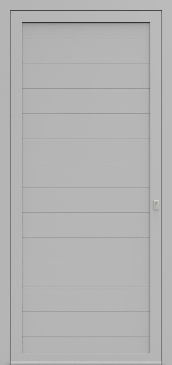 Porte d'entrée LD DESIGN E de la gamme Light Design posée par les établissements CELEREAU à Roncq