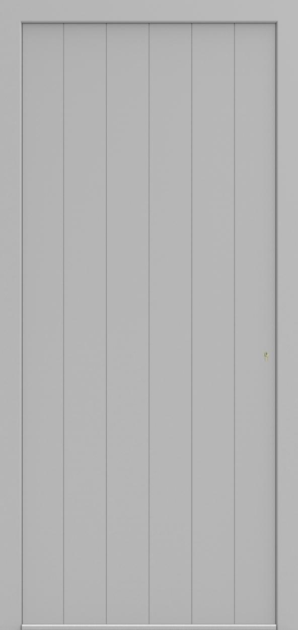 Porte d'entrée LD DESIGN F de la gamme Light Design posée par les établissements CELEREAU à Roncq