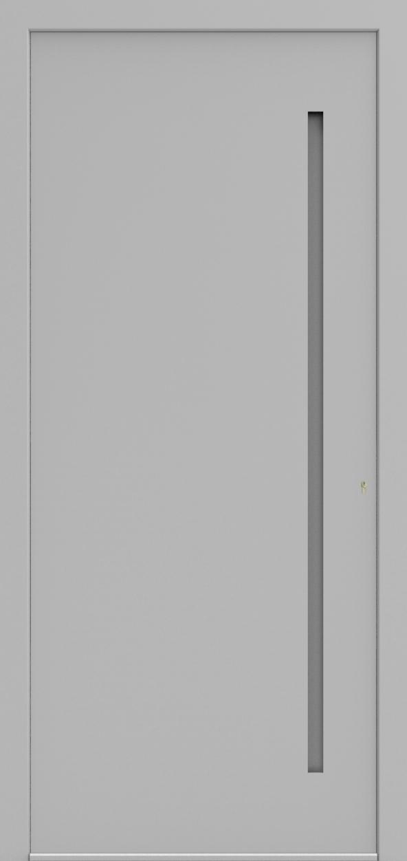 Porte d'entrée 3D JEF de la gamme Minimal posée par les établissements CELEREAU à Roncq