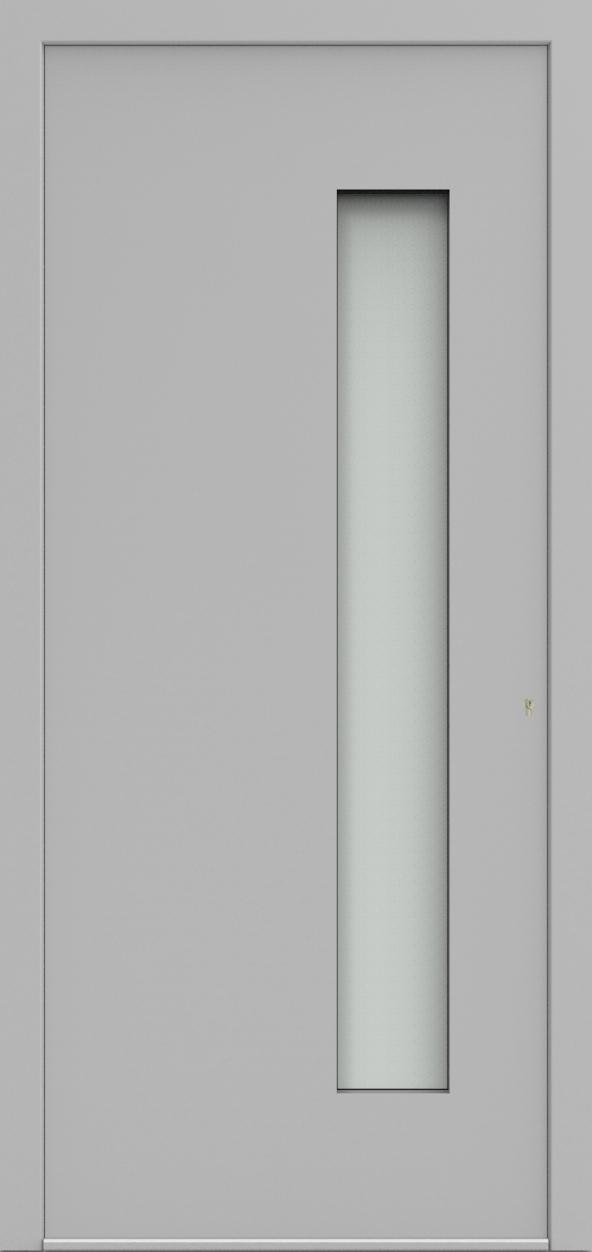 Porte d'entrée 3D LEON de la gamme Minimal posée par les établissements CELEREAU à Roncq