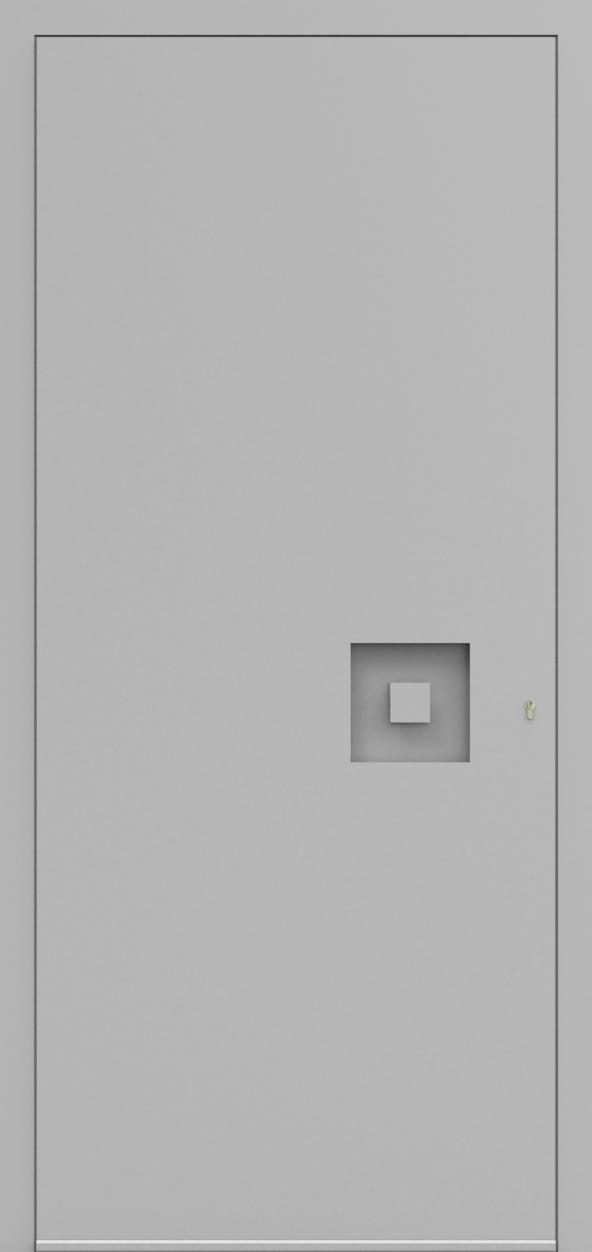Porte d'entrée 3D MODEST de la gamme Minimal posée par les établissements CELEREAU à Roncq