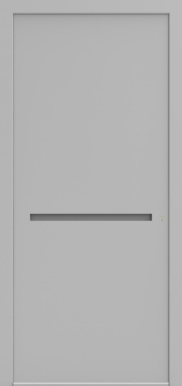Porte d'entrée 3D BASIL de la gamme Minimal posée par les établissements CELEREAU à Roncq