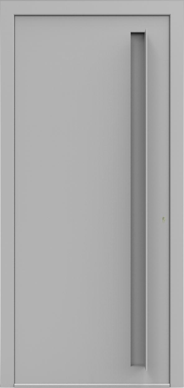 Porte d'entrée 3D JUUL de la gamme Minimal posée par les établissements CELEREAU à Roncq