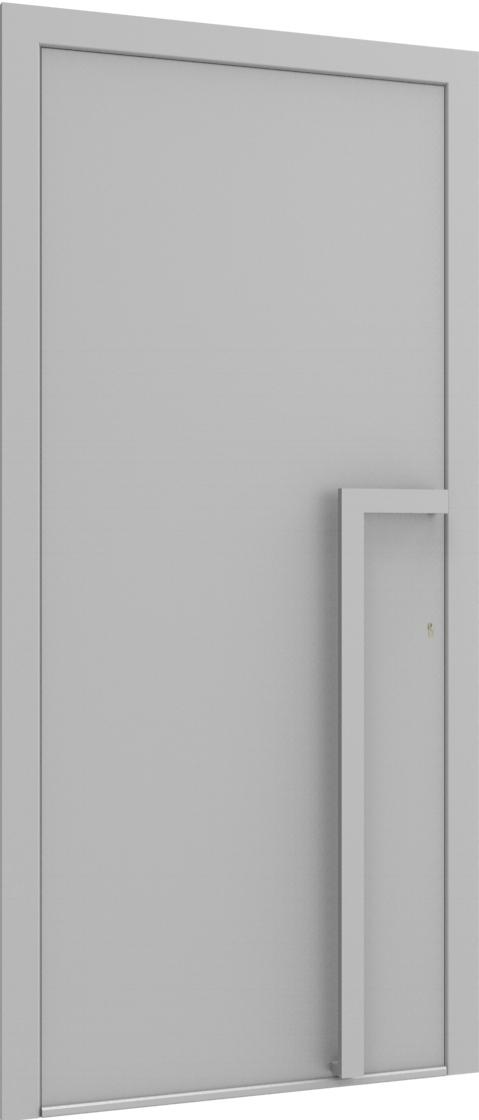 Porte d'entrée FLAT + art290 de la gamme Minimal posée par les établissements CELEREAU à Roncq