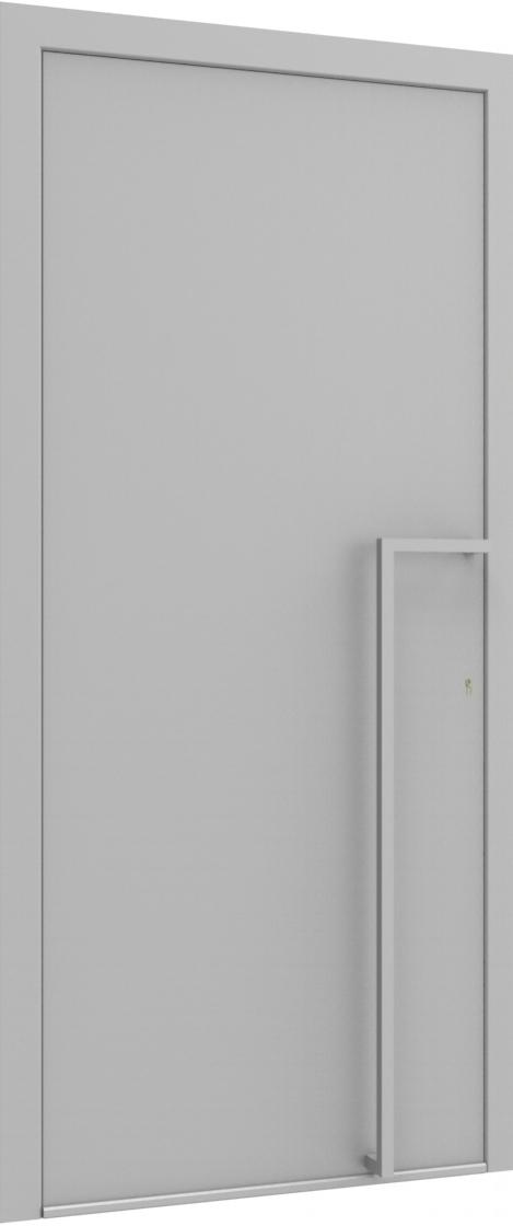 Porte d'entrée FLAT + art291 de la gamme Minimal posée par les établissements CELEREAU à Roncq