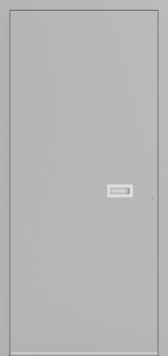 Porte d'entrée ONE 1.0 de la gamme Minimal posée par les établissements CELEREAU à Roncq
