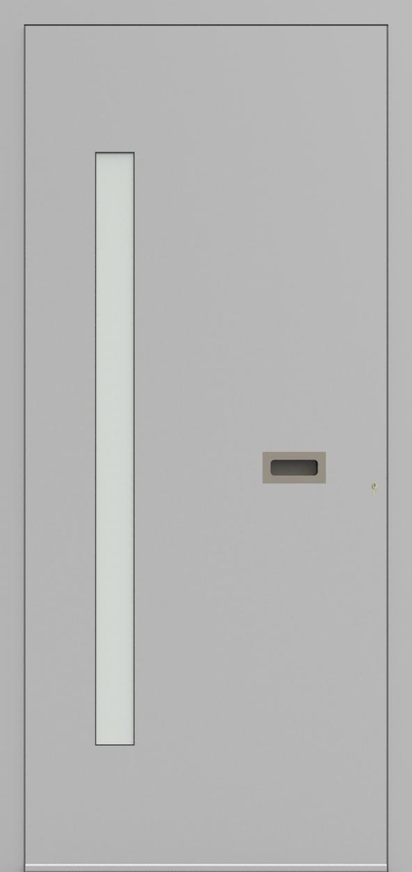 Porte d'entrée ONE 1.10 de la gamme Minimal posée par les établissements CELEREAU à Roncq