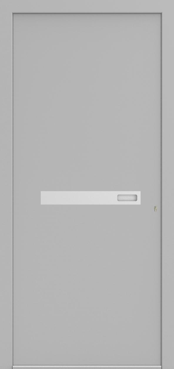 Porte d'entrée ONE 2.0 de la gamme Minimal posée par les établissements CELEREAU à Roncq
