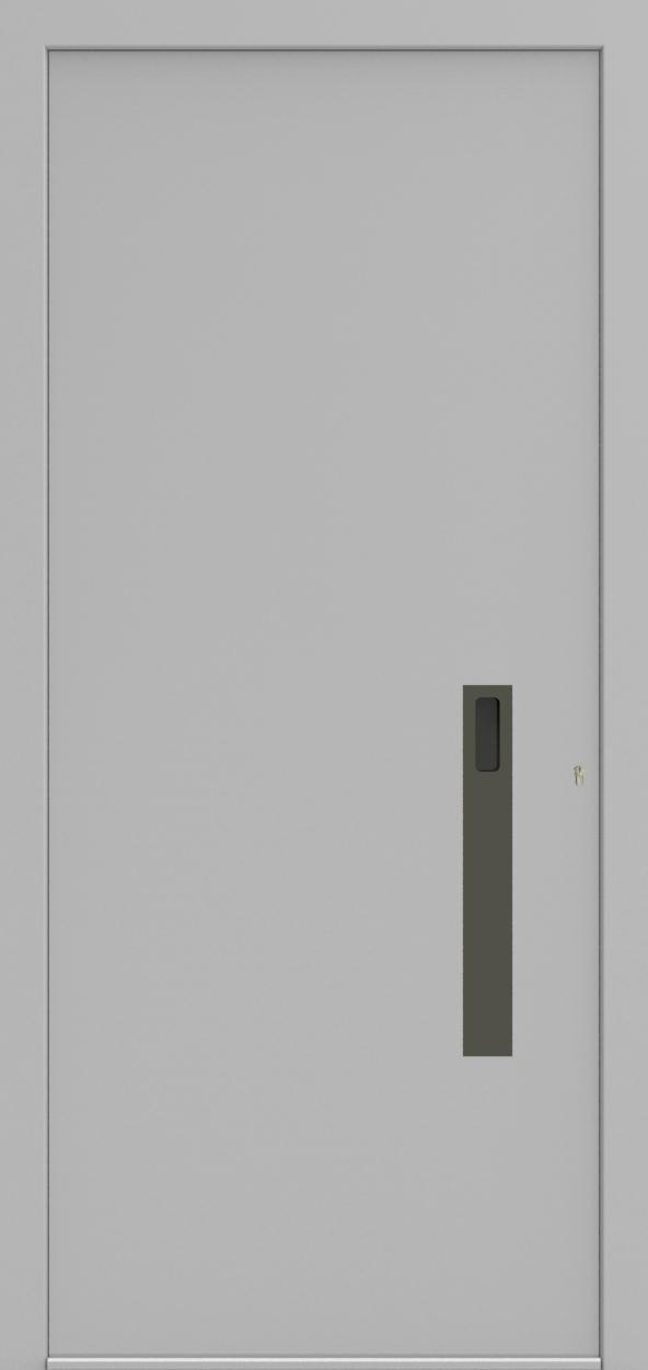 Porte d'entrée ONE 4.0 de la gamme Minimal posée par les établissements CELEREAU à Roncq