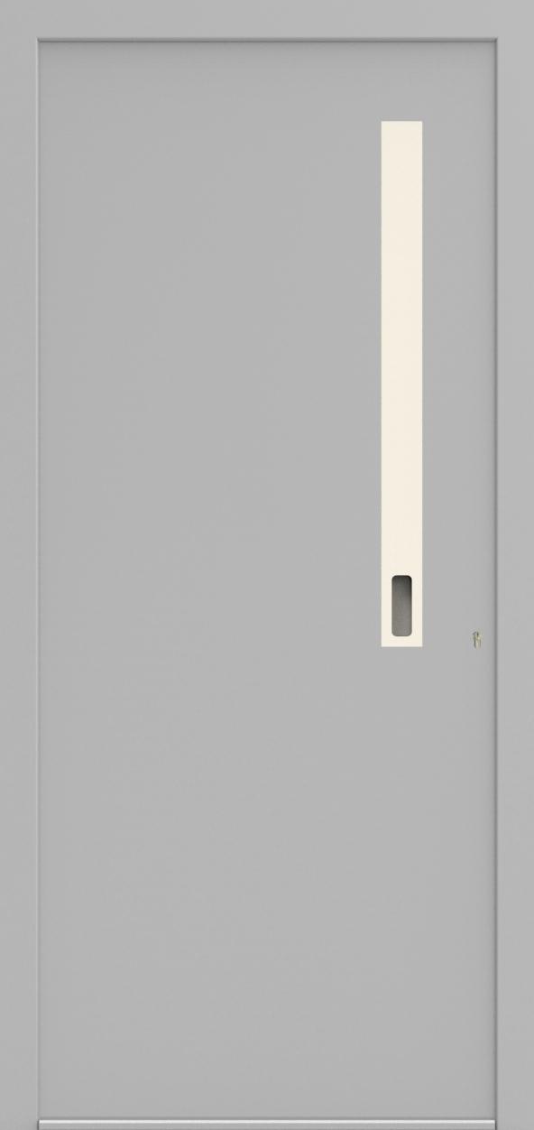 Porte d'entrée ONE 5.0 de la gamme Minimal posée par les établissements CELEREAU à Roncq
