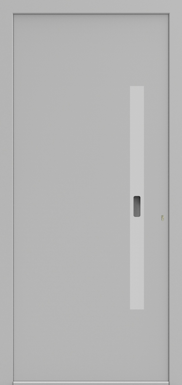 Porte d'entrée ONE 6.0 de la gamme Minimal posée par les établissements CELEREAU à Roncq