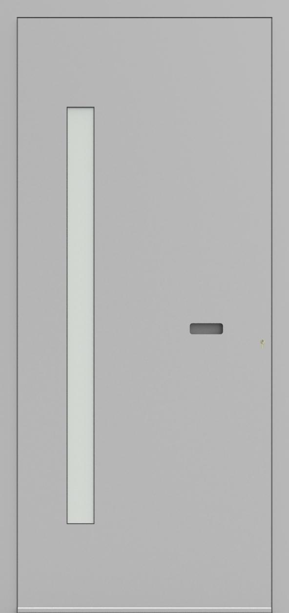 Porte d'entrée ONE 7.10 de la gamme Minimal posée par les établissements CELEREAU à Roncq