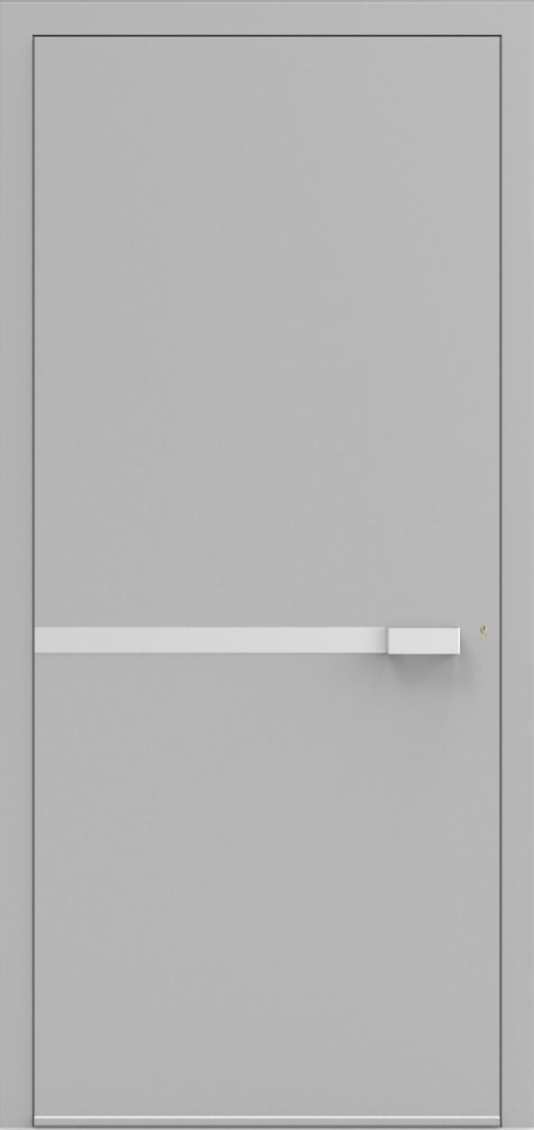 Porte d'entrée UNO 1.0 de la gamme Minimal posée par les établissements CELEREAU à Roncq