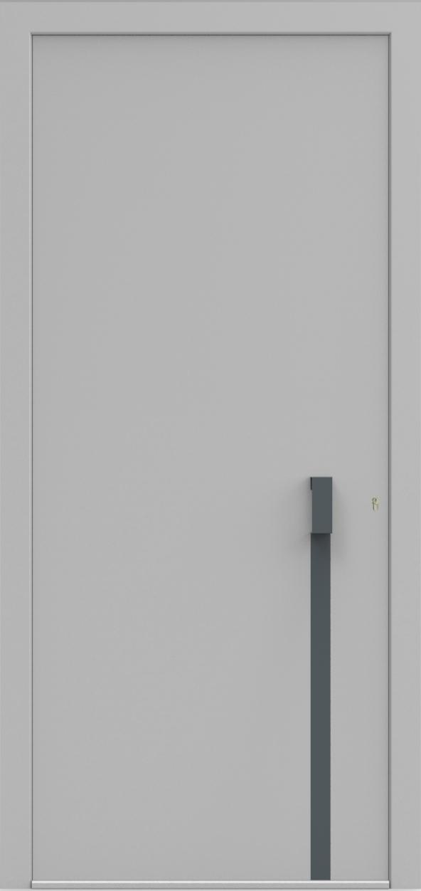 Porte d'entrée UNO 3.0 de la gamme Minimal posée par les établissements CELEREAU à Roncq