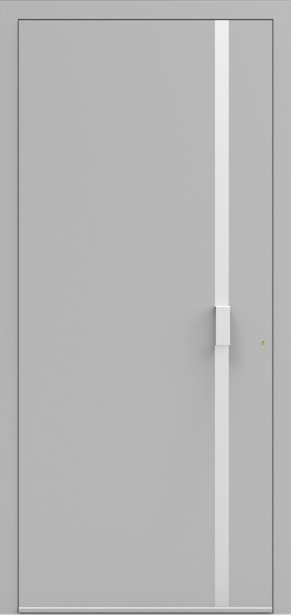 Porte d'entrée UNO 4.0 de la gamme Minimal posée par les établissements CELEREAU à Roncq