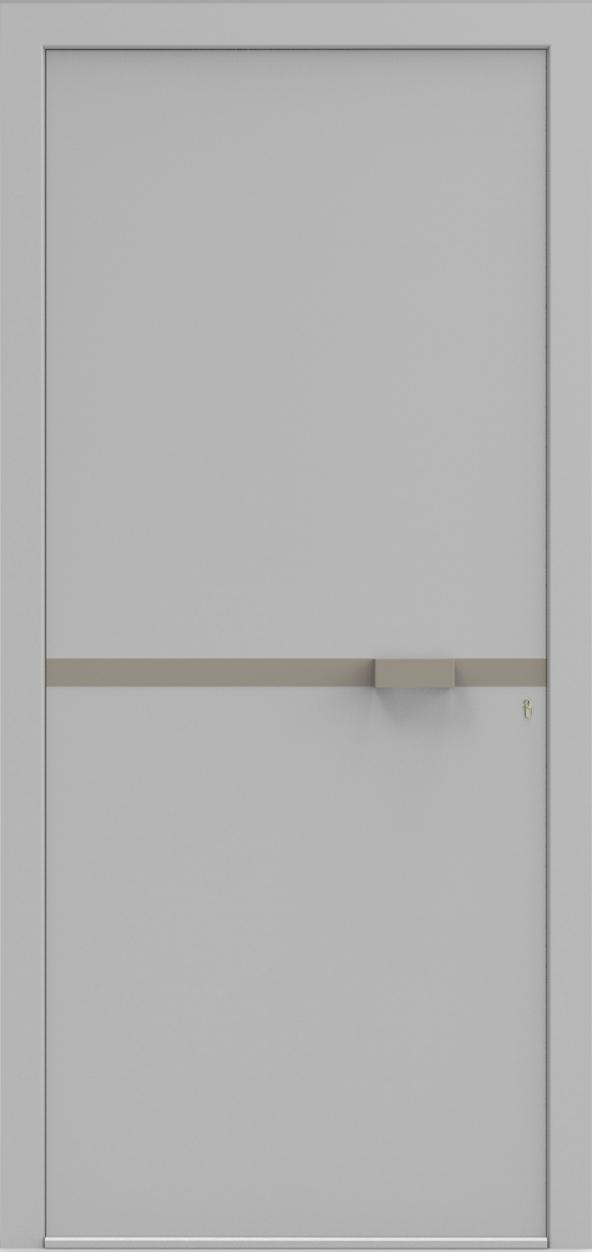 Porte d'entrée UNO 5.0 de la gamme Minimal posée par les établissements CELEREAU à Roncq