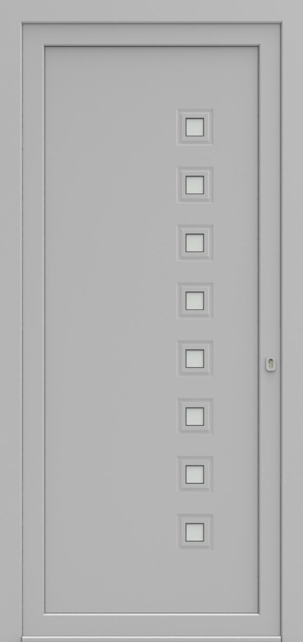 Porte d'entrée 13110 PRESTO de la gamme Mondial posée par les établissements CELEREAU à Roncq