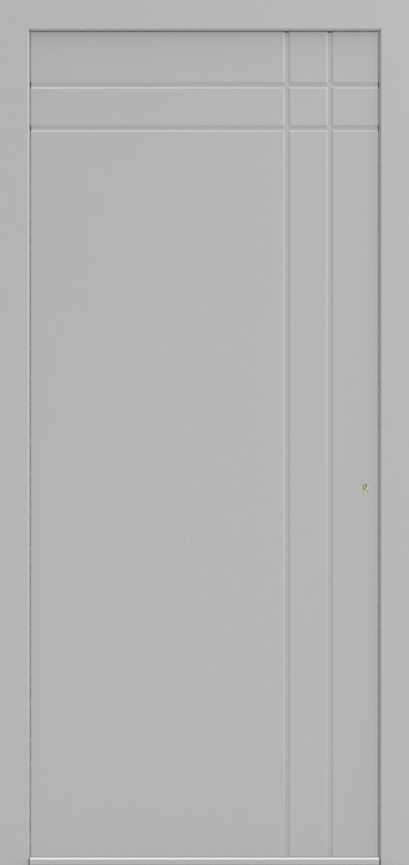 Porte d'entrée 141S ISIS de la gamme Mondial posée par les établissements CELEREAU à Roncq
