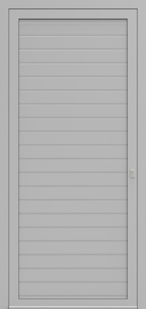 Porte d'entrée 162 LINEA de la gamme Mondial posée par les établissements CELEREAU à Roncq