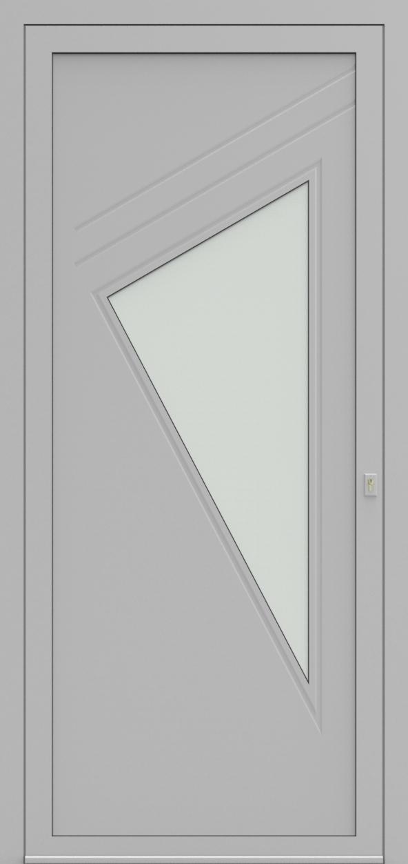 Porte d'entrée 19110 ROSAMAR de la gamme Mondial posée par les établissements CELEREAU à Roncq