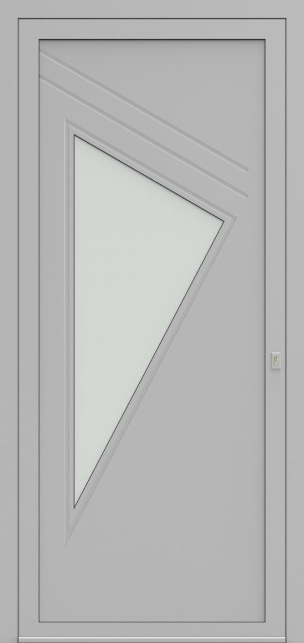 Porte d'entrée 19110S ROSAMAR de la gamme Mondial posée par les établissements CELEREAU à Roncq
