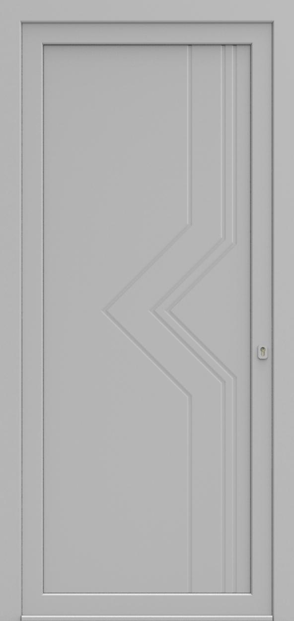 Porte d'entrée 211 MADISON de la gamme Mondial posée par les établissements CELEREAU à Roncq