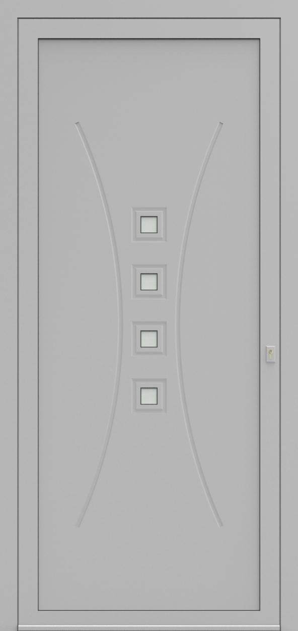 Porte d'entrée 21710 ORAK de la gamme Mondial posée par les établissements CELEREAU à Roncq