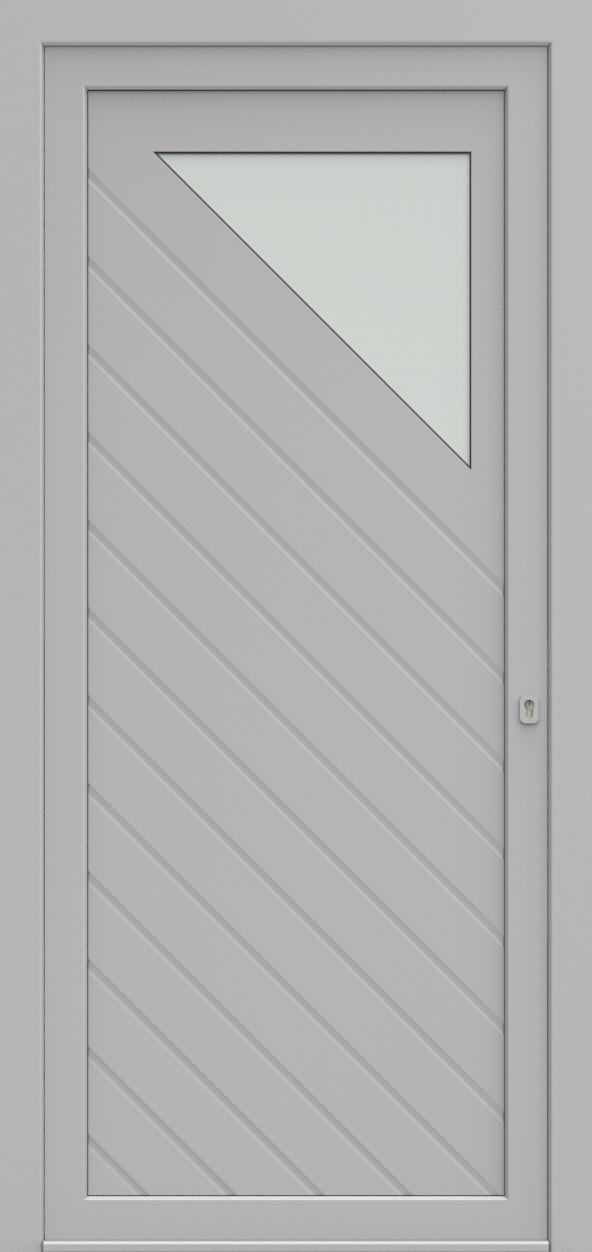 Porte d'entrée 25310 SARA de la gamme Mondial posée par les établissements CELEREAU à Roncq
