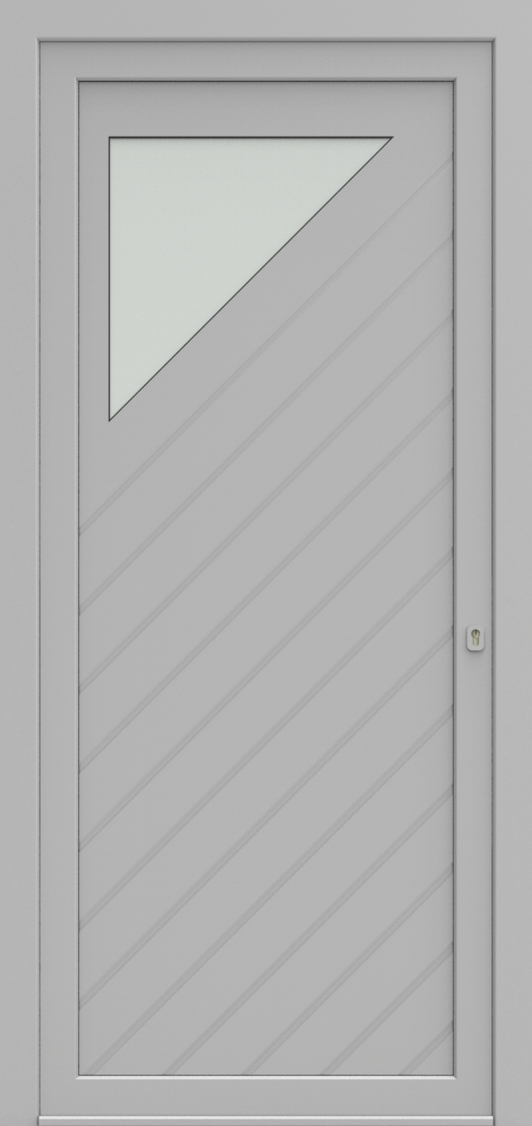 Porte d'entrée 25310S SARA de la gamme Mondial posée par les établissements CELEREAU à Roncq