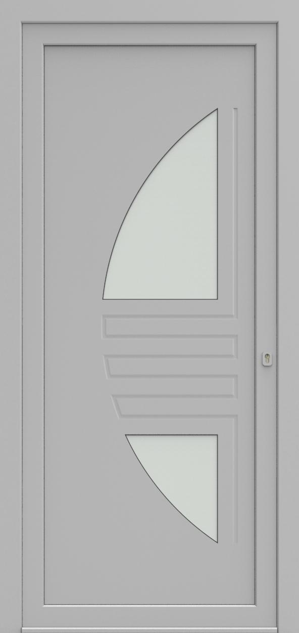 Porte d'entrée 25420S LEE de la gamme Mondial posée par les établissements CELEREAU à Roncq