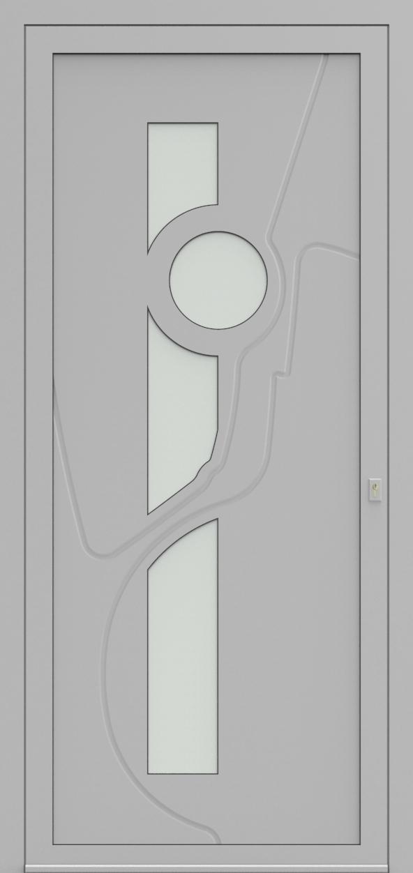 Porte d'entrée 63710S OCTRO de la gamme Mondial posée par les établissements CELEREAU à Roncq