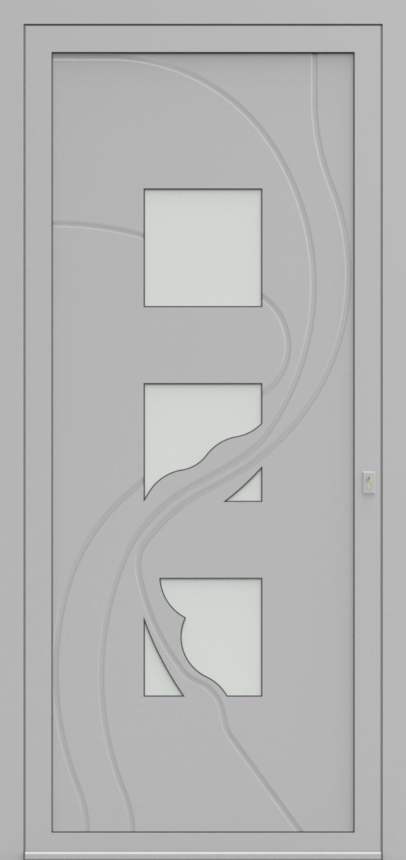 Porte d'entrée 63830 ENNIO de la gamme Mondial posée par les établissements CELEREAU à Roncq