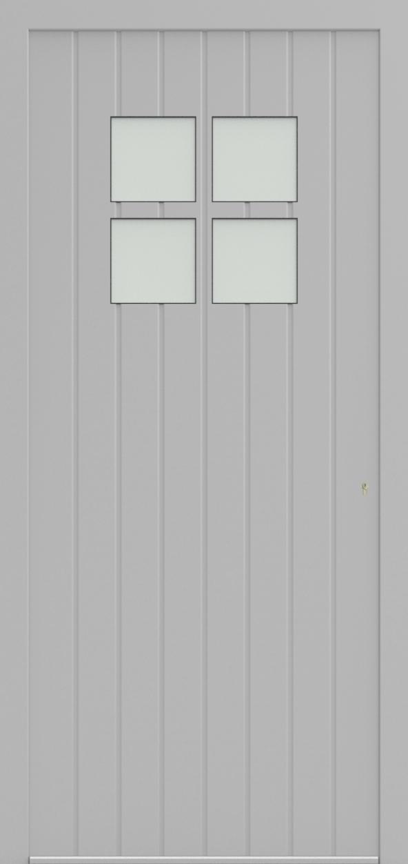 Porte d'entrée 64410B MARIAGE de la gamme Mondial posée par les établissements CELEREAU à Roncq