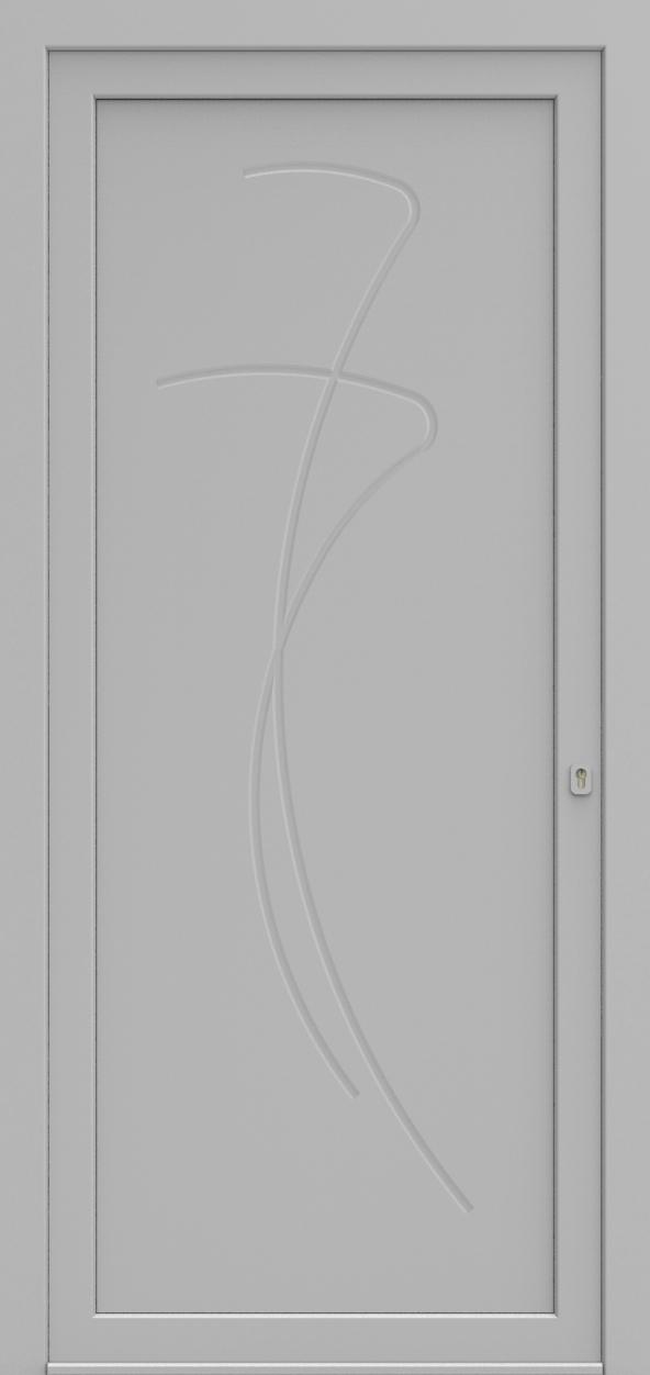 Porte d'entrée 691 LIUNO de la gamme Mondial posée par les établissements CELEREAU à Roncq