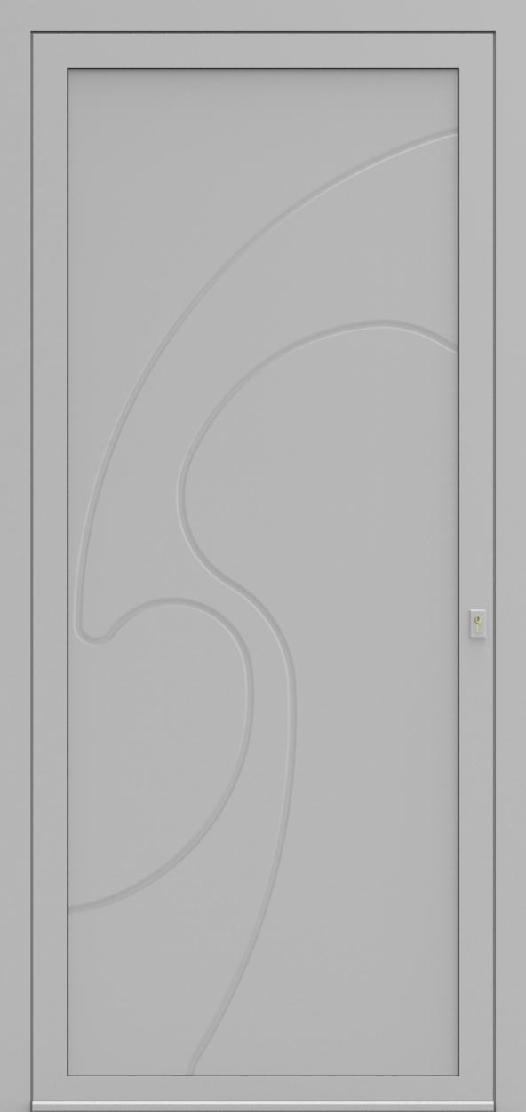 Porte d'entrée 693 LITRES de la gamme Mondial posée par les établissements CELEREAU à Roncq