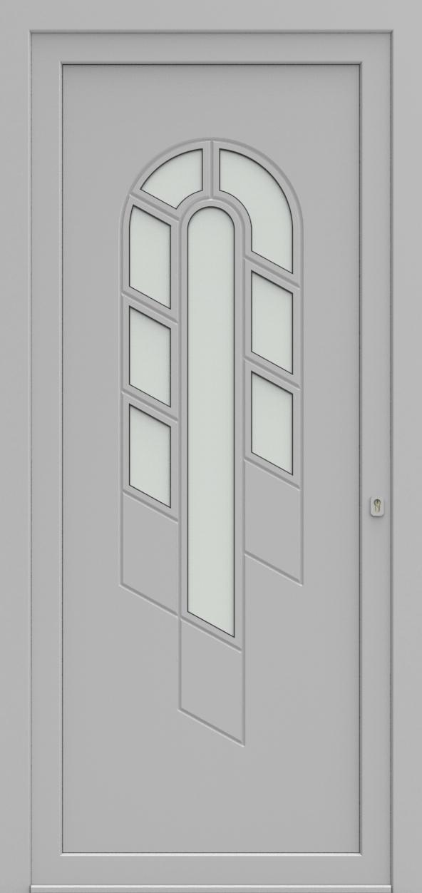 Porte d'entrée 95010 JUNIOR de la gamme Mondial posée par les établissements CELEREAU à Roncq